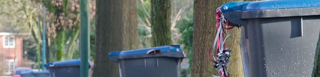 Ja, dit is de blauwe papiercontainer. De grijze kon de afdeling beeld even niet vinden...